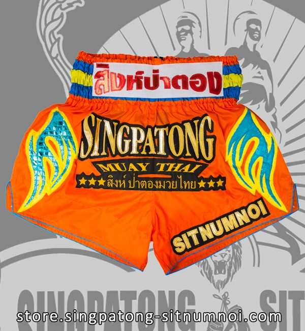 Muay Thai Shorts CLASSIC ORANGE