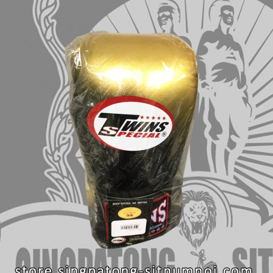 "Twins Fancy Boxing Gloves ""GOLD BLACK GRADIENT"""