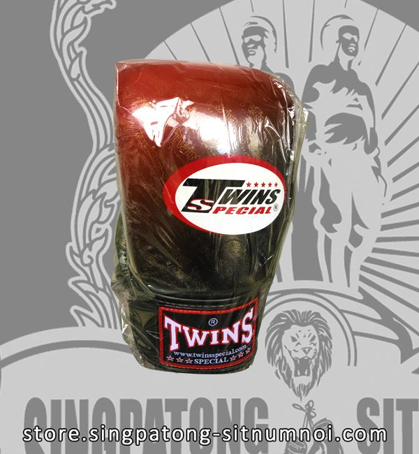 "Twins Fancy Boxing Gloves ""RED BLACK GRADIENT"""