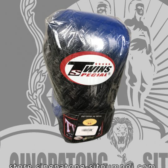 "Twins Fancy Boxing Gloves ""BLUE BLACK GRADIENT"""